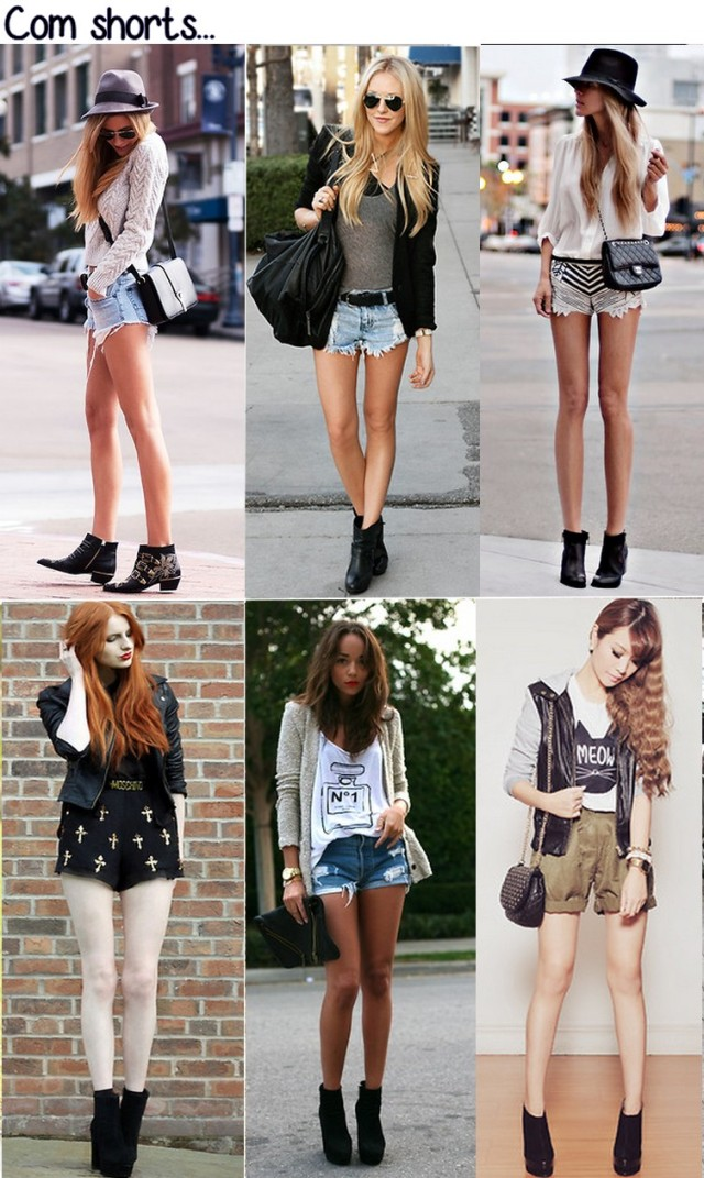 botas + shorts