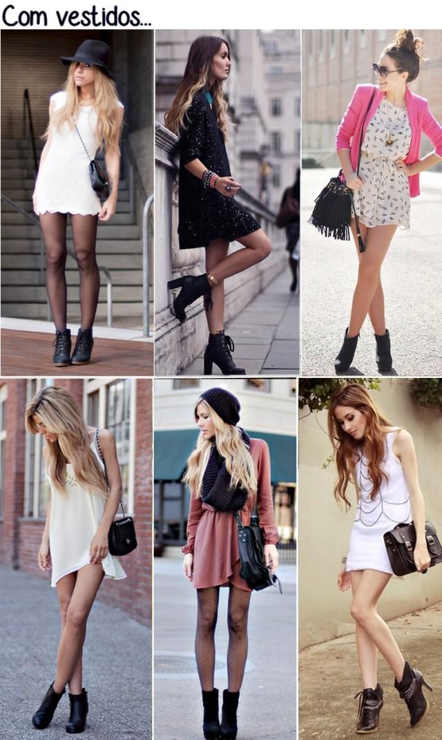 botas + vestidos