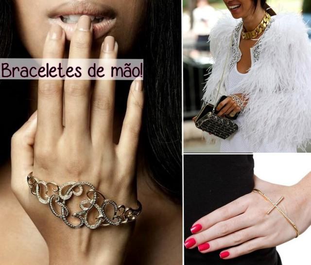 braceletes de mao