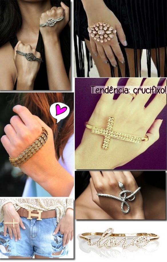 braceletes de mao-